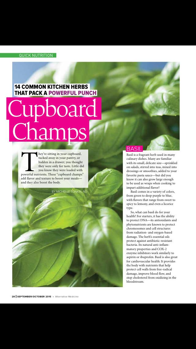 Alternative Medicine(Magazine) screenshot 4