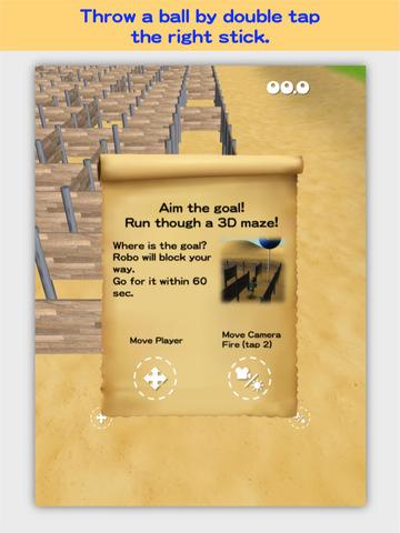 3D Maze Robo screenshot 10
