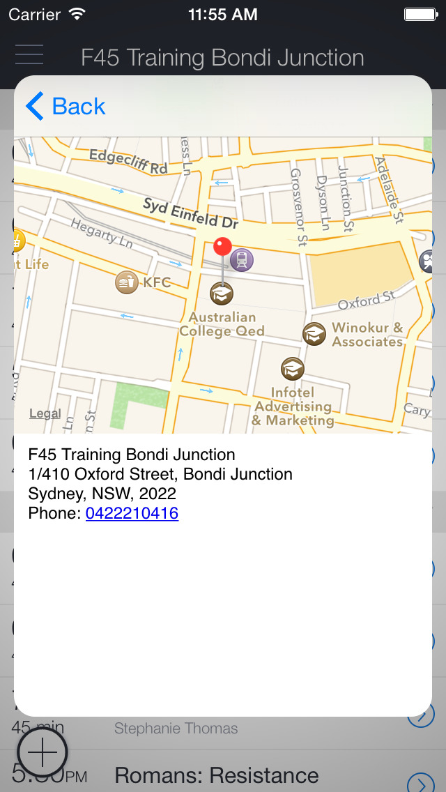 F45 Bondi Junction screenshot 1
