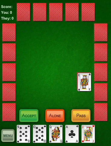 Euchre+ screenshot 2