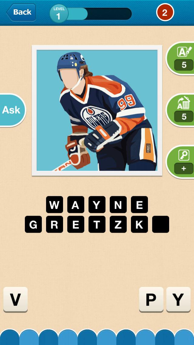 Hi Guess the Hockey Star screenshot 3