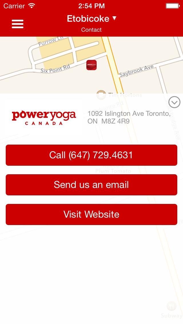 Power Yoga Canada screenshot #5