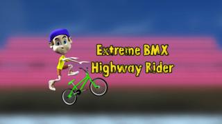 Extreme BMX Highway Rider Pro - Cool speed street racing game screenshot 1
