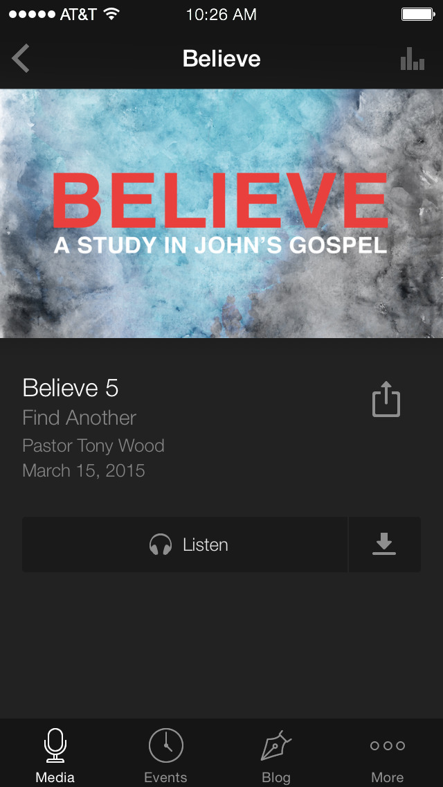 Mission Bible Church screenshot 3
