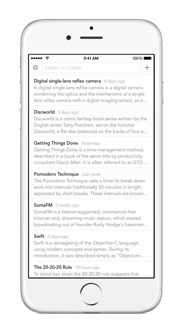 nvNotes - Note Taking & Writing App screenshot 1