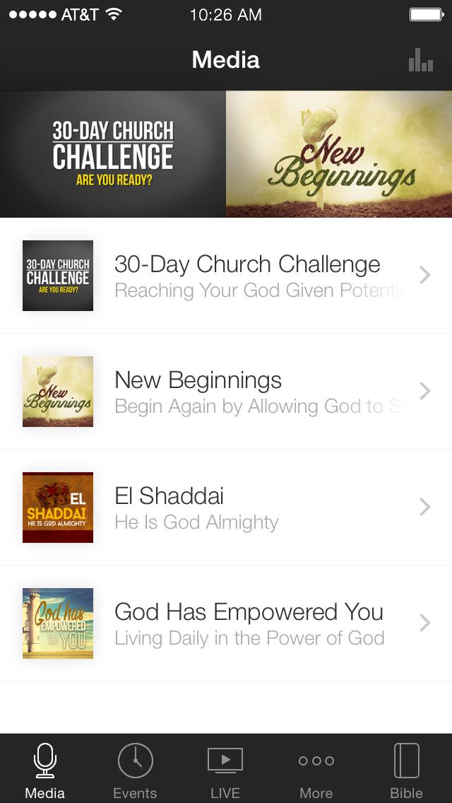 Word Alive Church screenshot 1