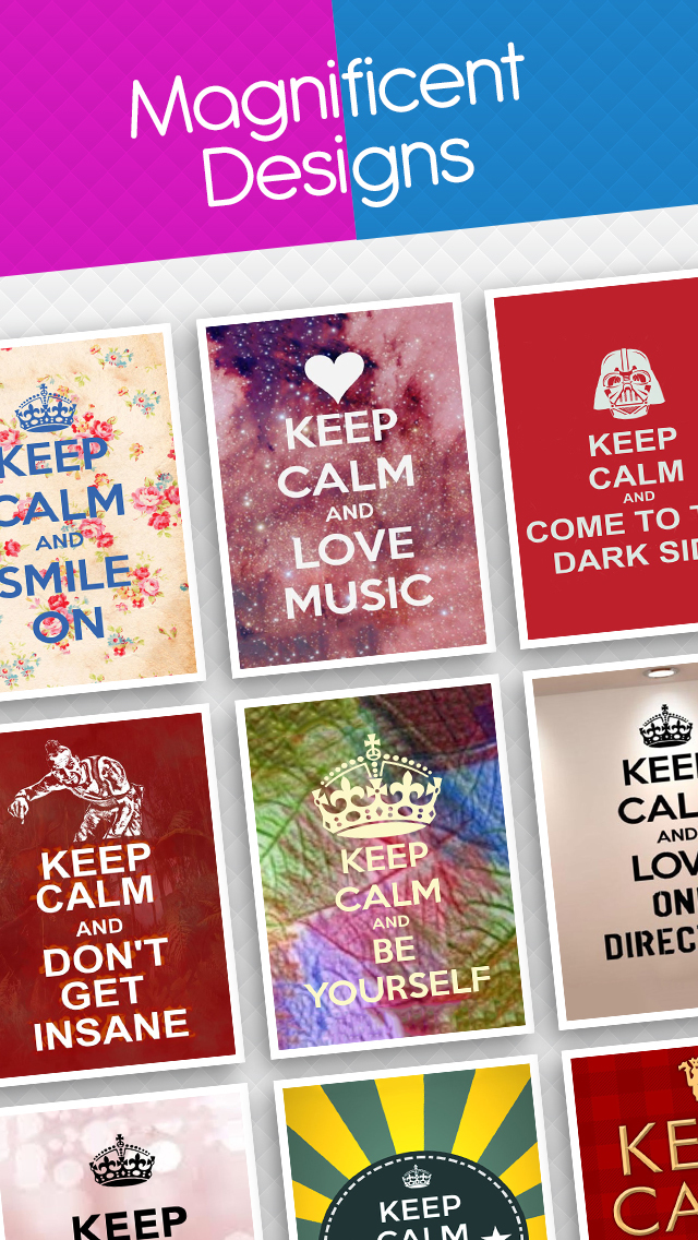 Keep Calm Make A Poster Keep Calm And Carry On Wallpapers