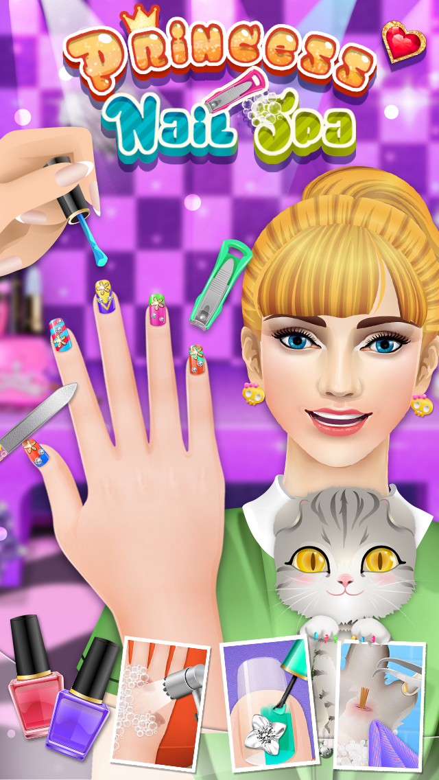 Nail Makeover - girls games screenshot 1