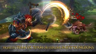 Divine Might - 3D Dungeon Crawler MMORPG screenshot 2