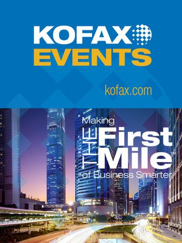 Kofax Events screenshot 3