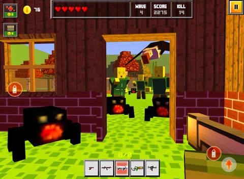 Pixel Combat : 3D Block Wars screenshot 8