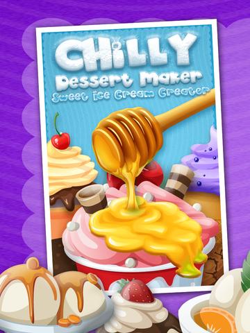A+ Chilly Dessert Maker & Sweet Ice Cream Creator - Cone, Sundae, & Sandwich screenshot 6