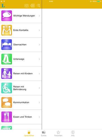 Englisch talk&travel – Langenscheidt Sprachführ... screenshot 7