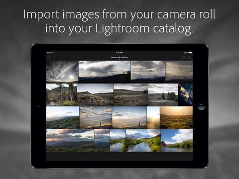 Adobe Lightroom for iPad screenshot 3