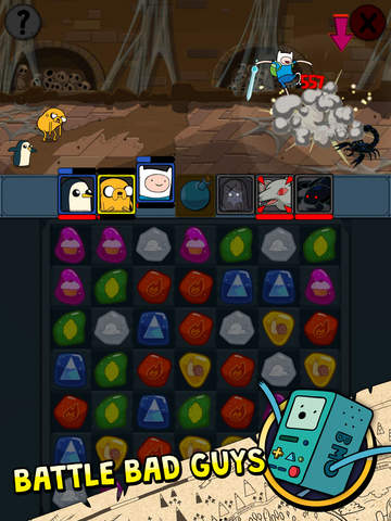 Adventure Time Puzzle Quest - Match 3 RPG Game screenshot 7