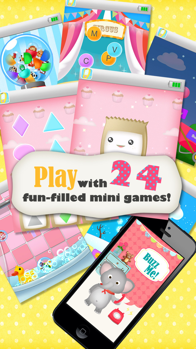 Buzz Me! Kids Toy Phone - All in One children activity center screenshot 5