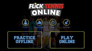 Flick Tennis Online - Play like Nadal, Federer, Djokovic in top multiplayer tournaments! screenshot #2