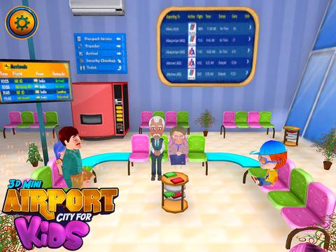 3d Mini Airport City For Kids screenshot 7