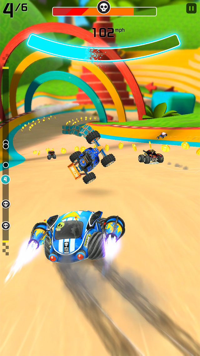 Rocket Cars screenshot 1