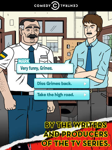Ugly Americans, a Comedy Central and Episode production screenshot 9