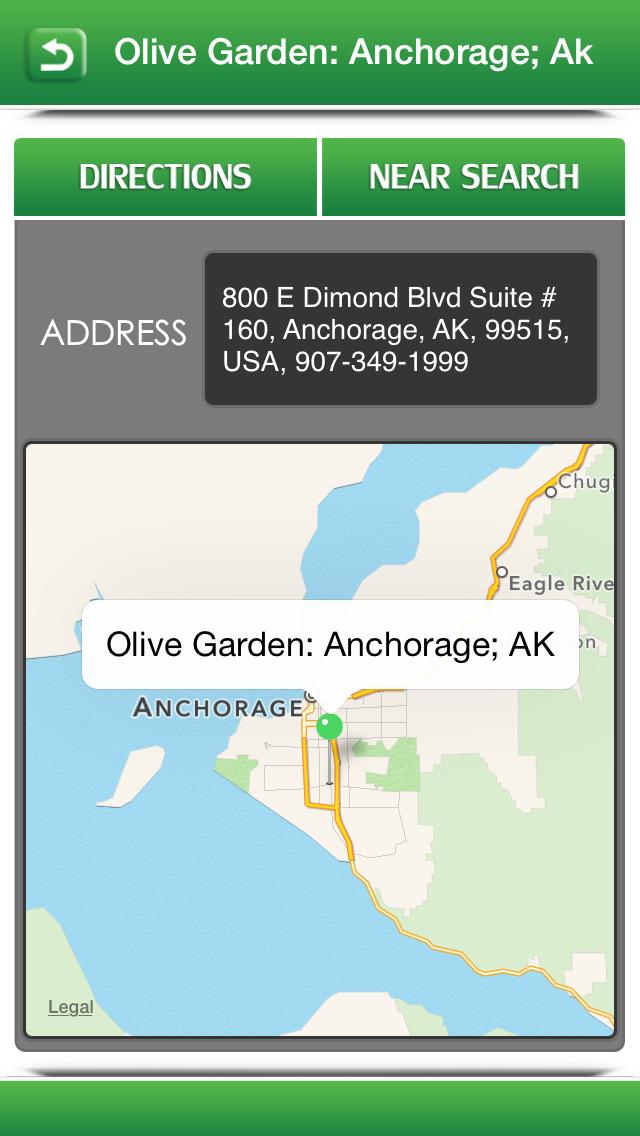 Perfect App for Olive Garden Restaurants screenshot 3
