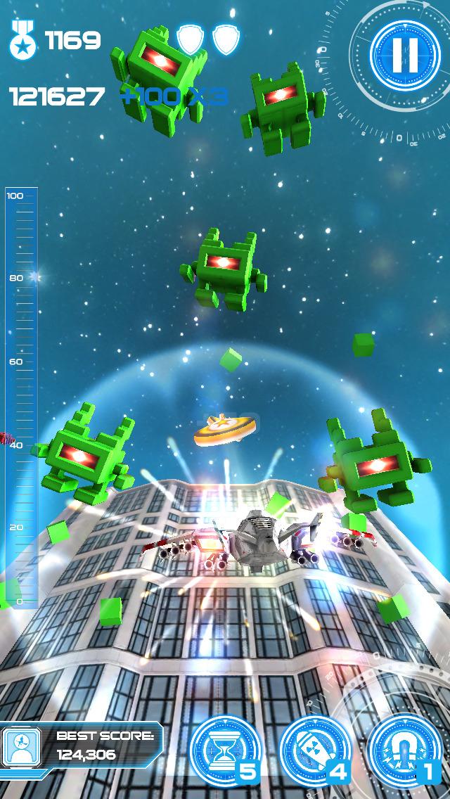 Jet Run: City Defender screenshot #4