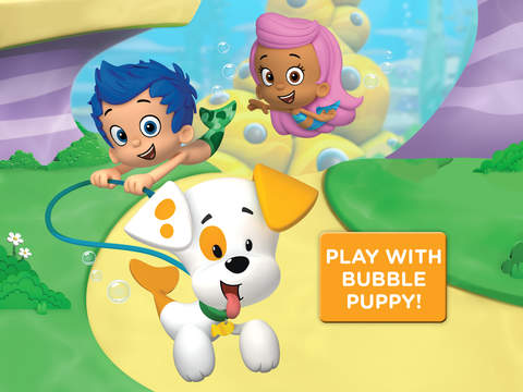Bubble Puppy: Play and Learn for iPad - Bubble Guppies Kids Game screenshot 1