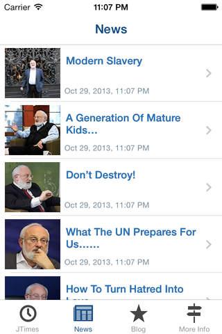 JTimes - náhled