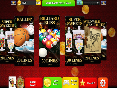 Perfect Slots Ultra Plus - Modern House of Dark Spades Cards screenshot 7