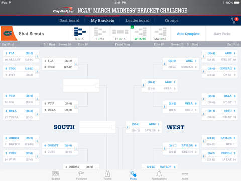 NCAA March Madness Live screenshot 9