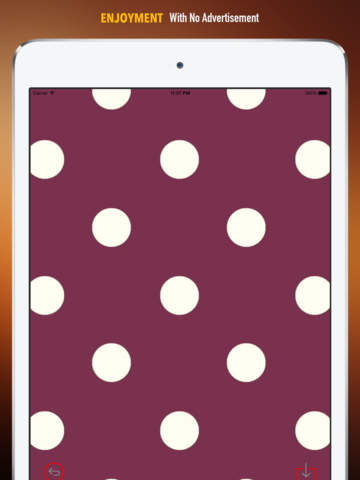 Polka Dot Wallpapers HD: Quotes Backgrounds Creator with Best Designs and Patterns screenshot 7