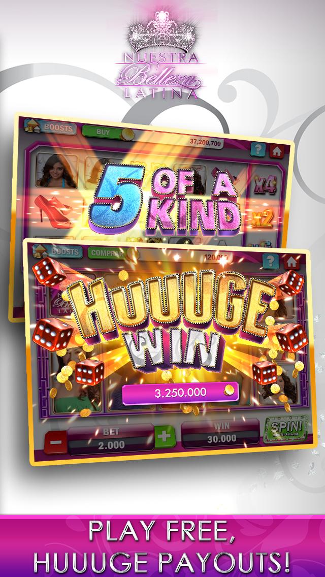 Nuestra Belleza Latina Casino - FREE Slots, Blackjack & Video Poker screenshot 3