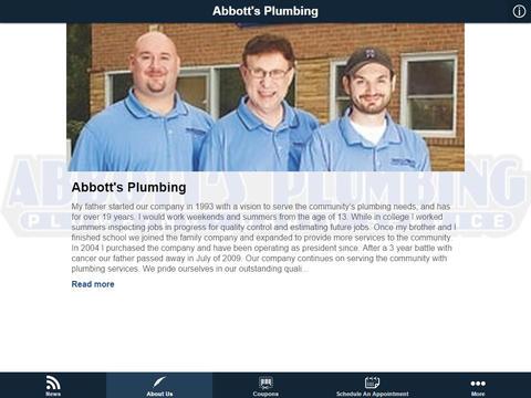 Abbott's Plumbing - náhled