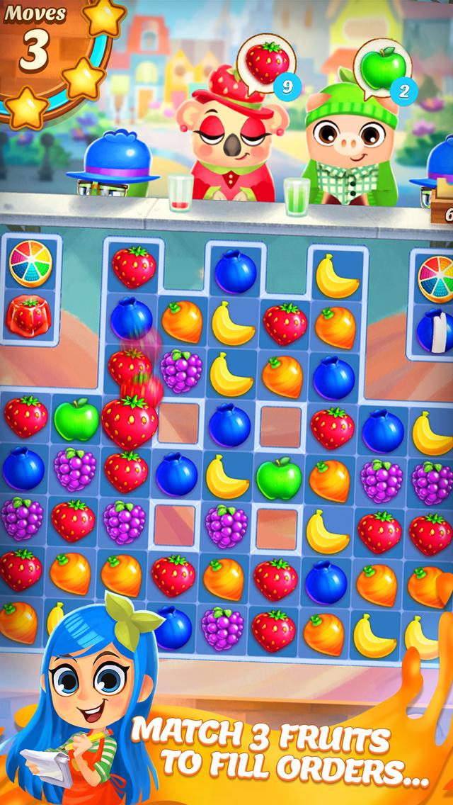 Juice Jam! Match 3 Puzzle Game screenshot 1