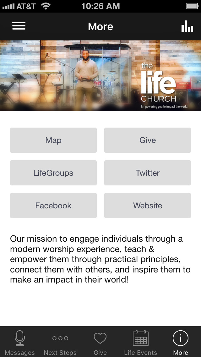 the life church - baytown screenshot 4