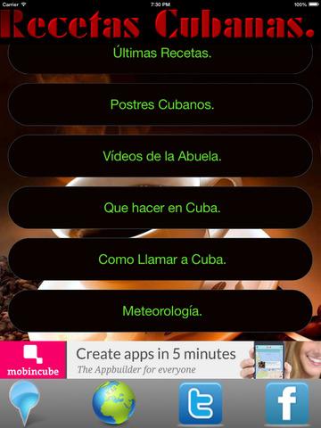 Recetas Cubanas - La Comida más rica del mundo screenshot 10