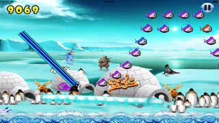 Happy Pinguin Jump : Wourld Tour screenshot 2