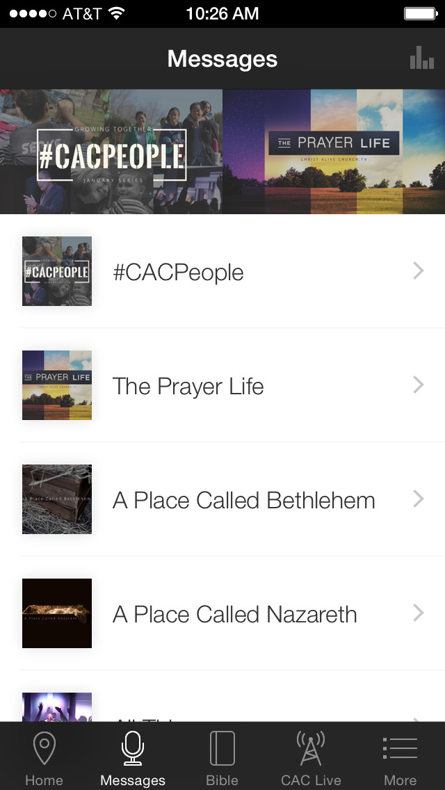 Christ Alive App screenshot 2