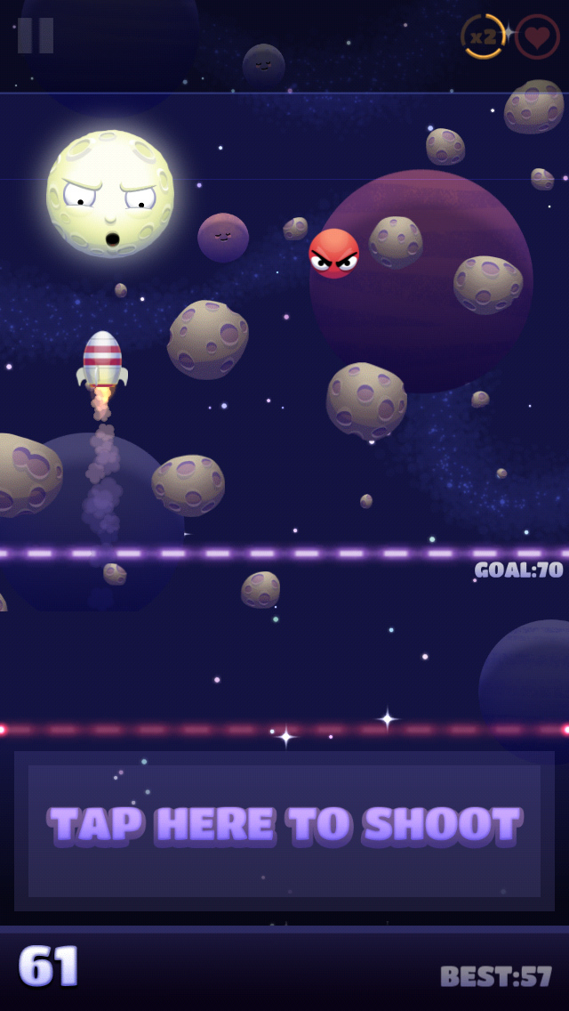 Shoot The Moon screenshot 1