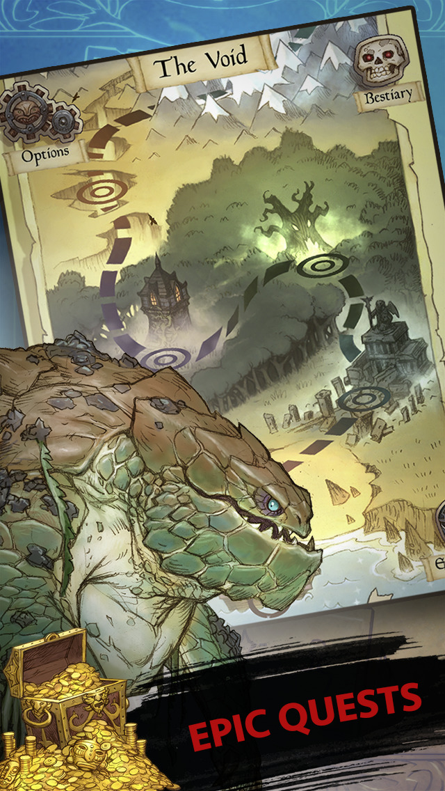 SoulSpark - Battle Cards (RPG) screenshot 1