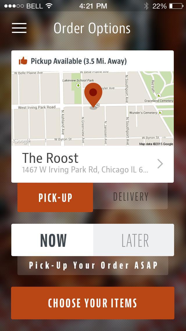 The Roost Carolina Kitchen screenshot 2