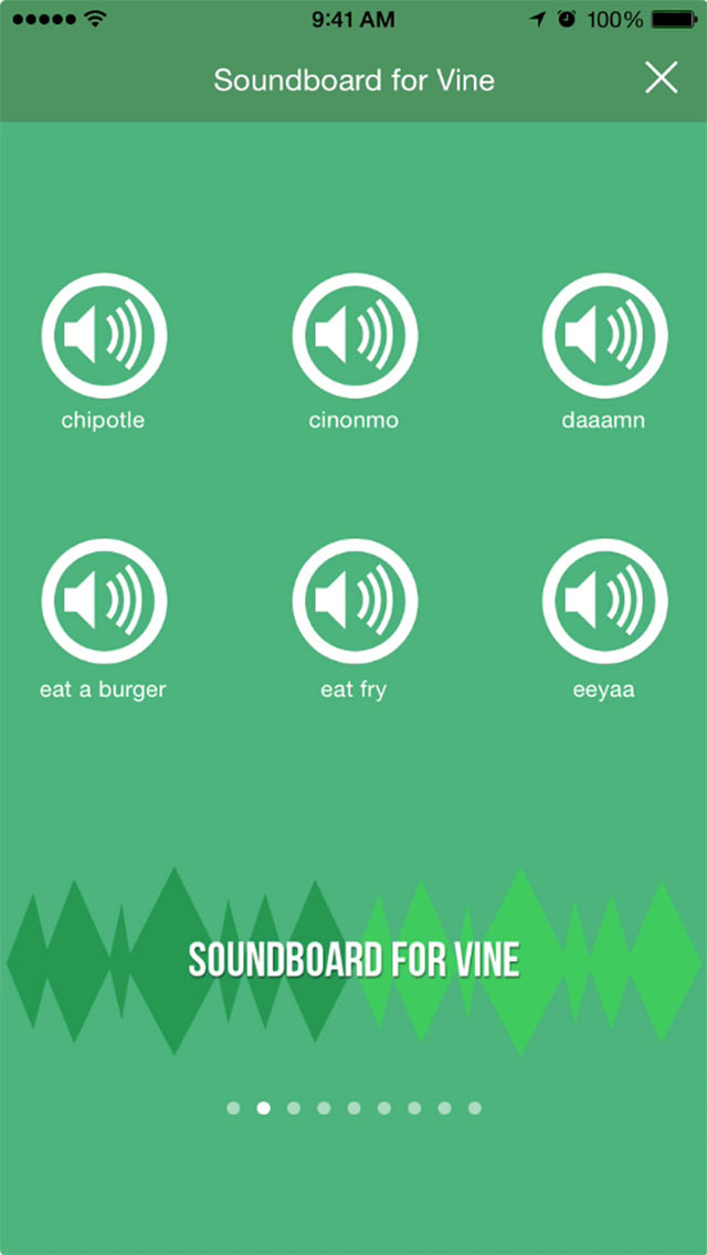 VSounds: The Best Soundboard for Vine screenshot 2