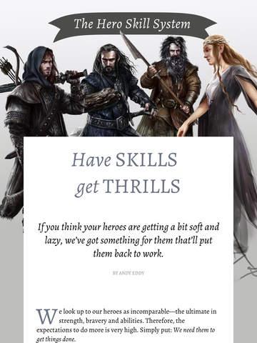 The Hobbit Kingdoms of Middle-earth Magazine screenshot 7