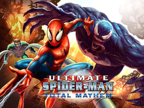 Spider-Man: Total Mayhem HD screenshot 1