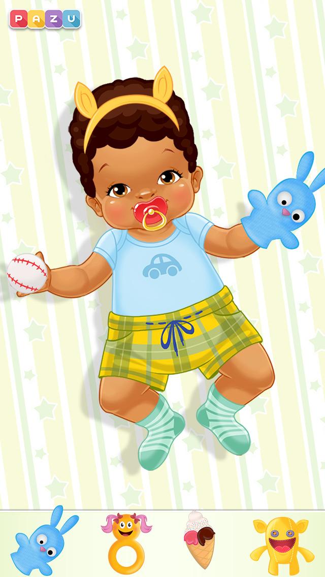 Chic Baby-Dress up & Baby Care screenshot #3