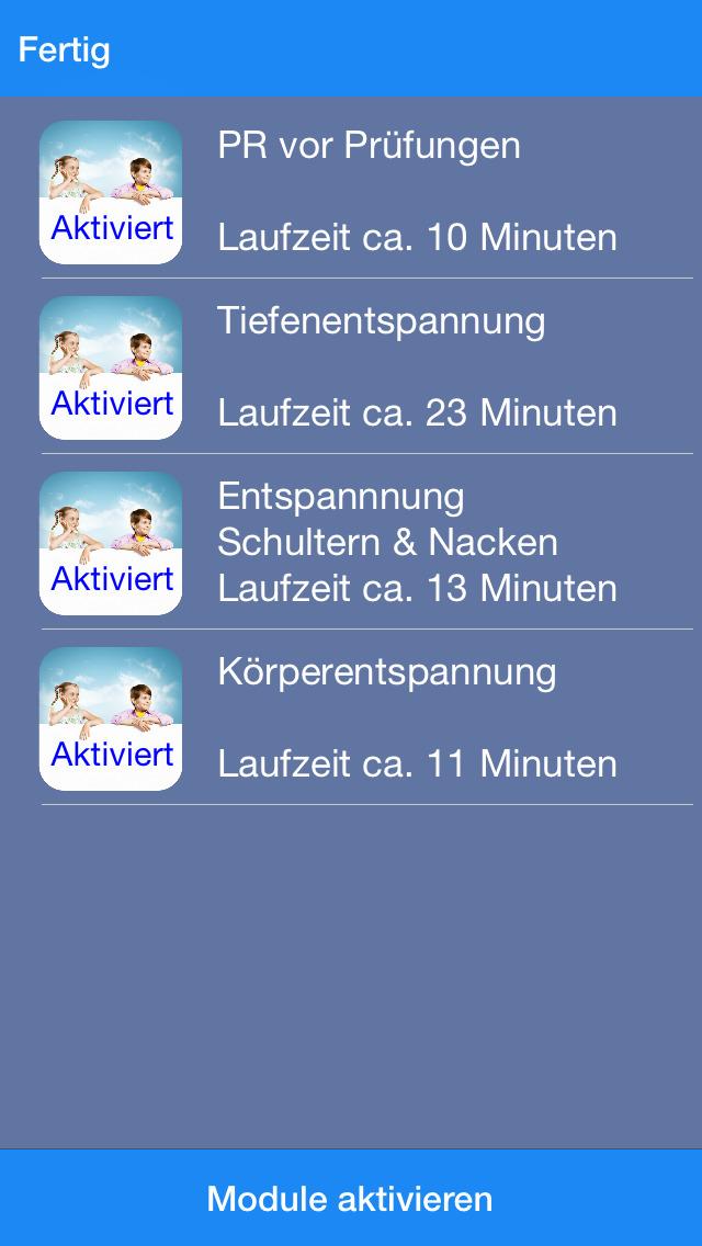 Progressive Entspannung für Schüler screenshot 2