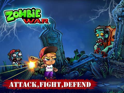 Zombie War - Save The World screenshot 8