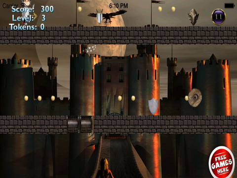 Red Ball Medieval Bouncing PRO : Avoid Spikes screenshot 6