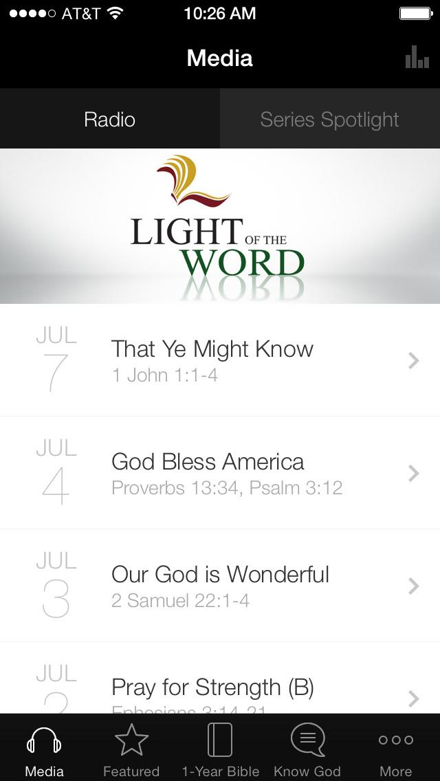 Light of the Word screenshot 1