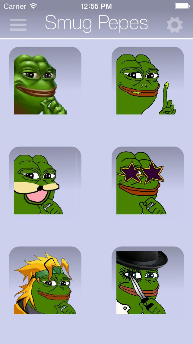 Rare Pepes for SMS (Sad Frog) screenshot 5